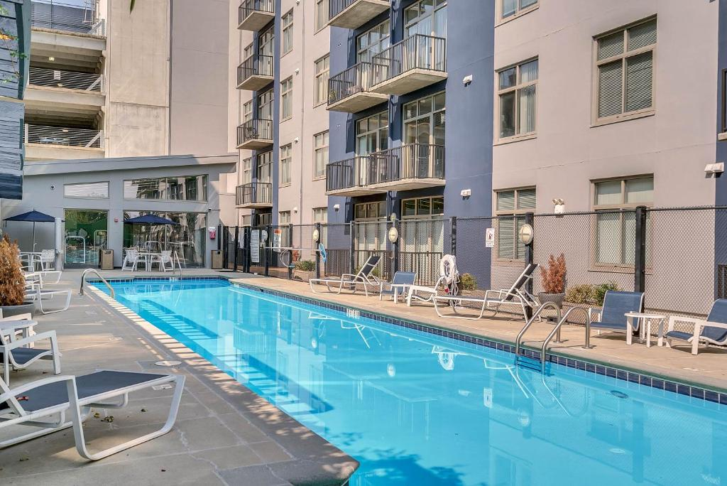 The swimming pool at or near Downtown Atlanta