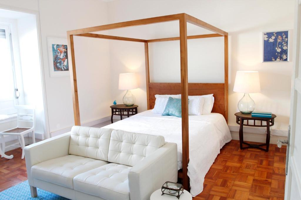 Cama ou camas em um quarto em Magnolia Guesthouse