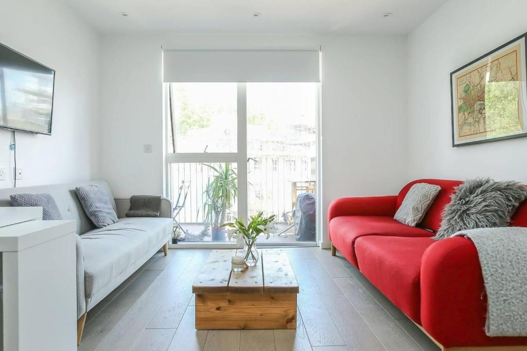 Modern + Bright 2Br Apartment In Hoxton