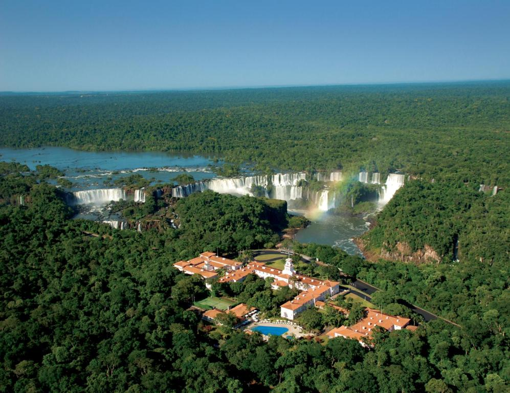 A bird's-eye view of Belmond Hotel das Cataratas