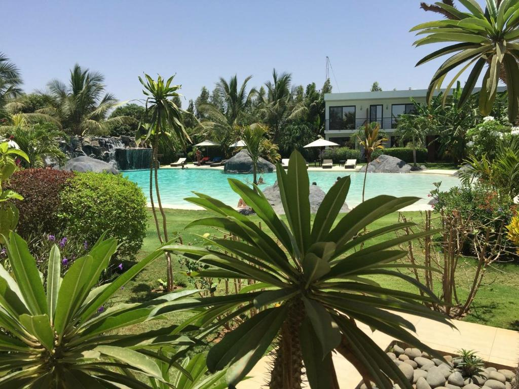 The swimming pool at or near Keparanga