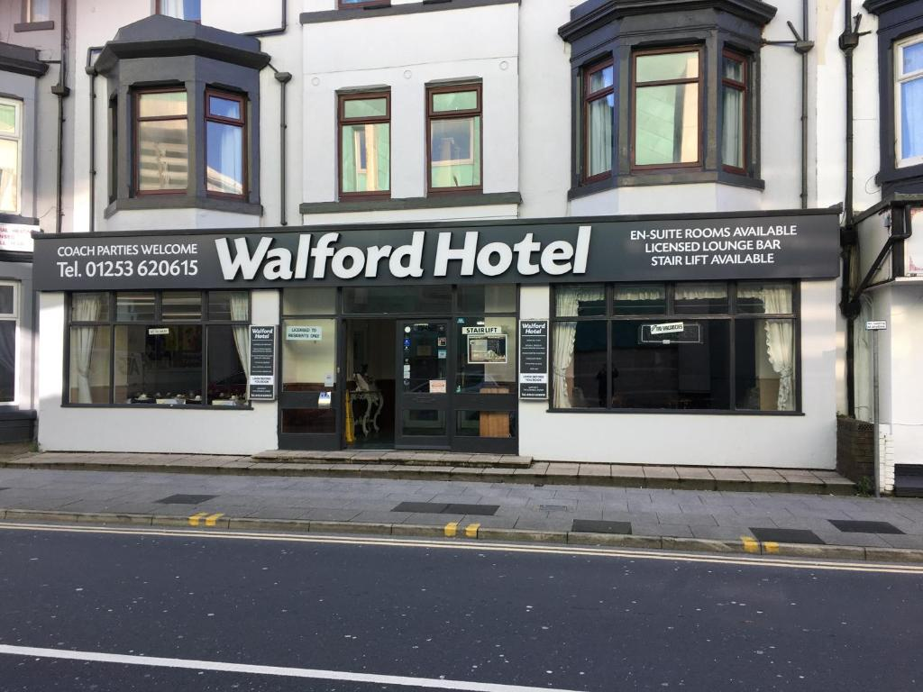 Walford Hotel in Blackpool, Lancashire, England
