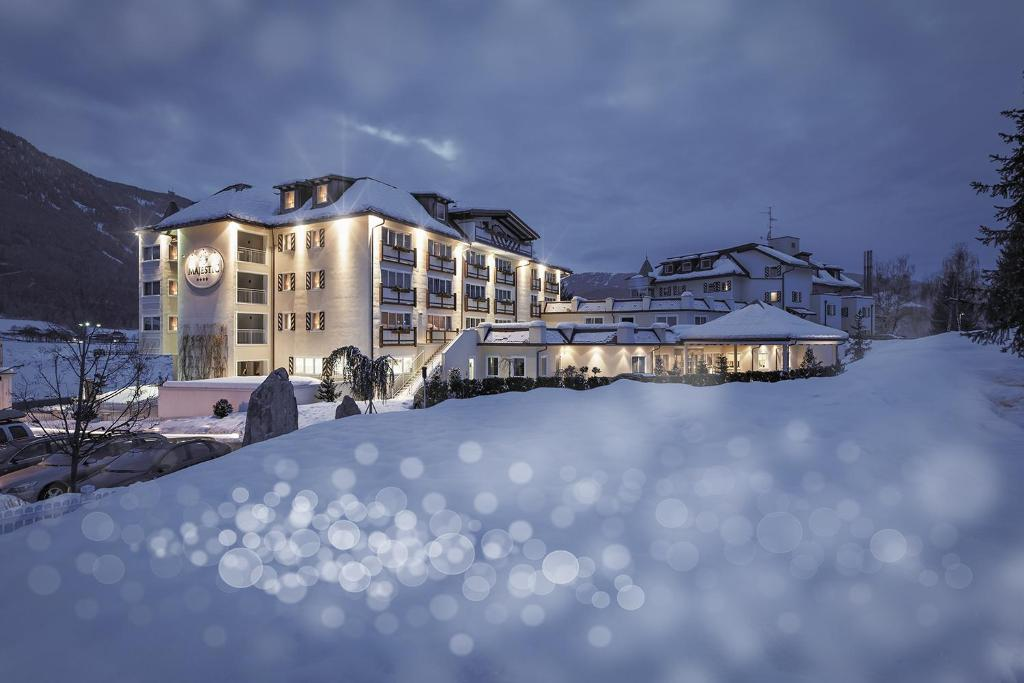 Majestic Hotel & Spa during the winter