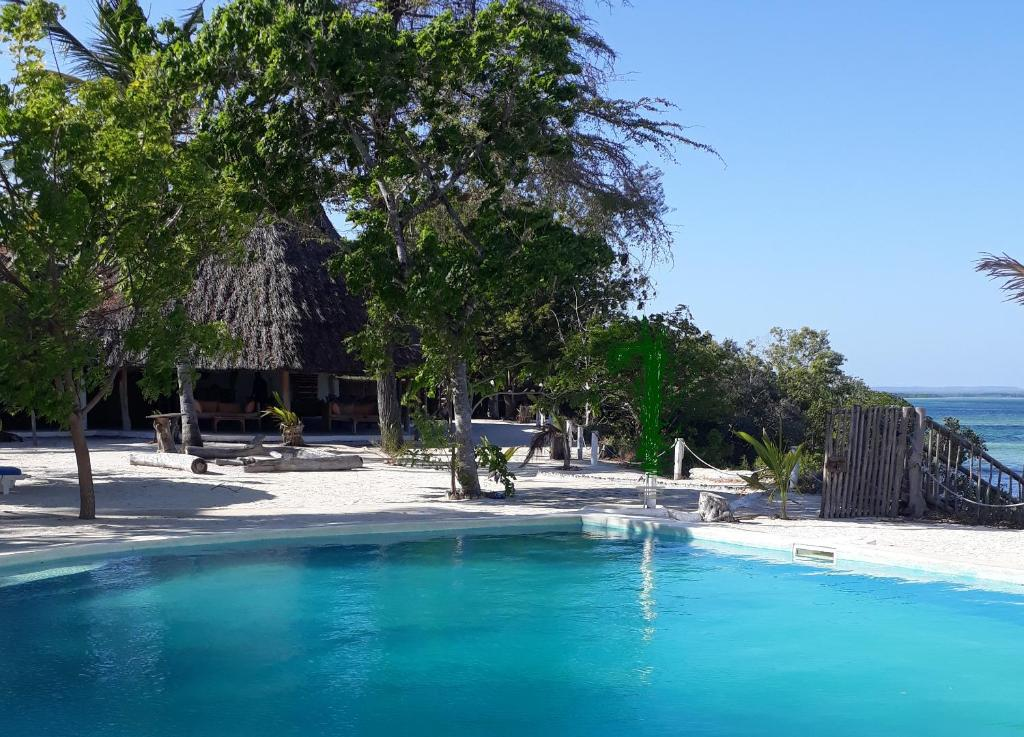 The swimming pool at or close to Merry Crab Beach Hotel