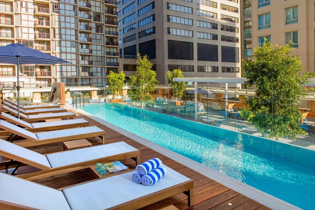 The swimming pool at or near Primus Hotel Sydney