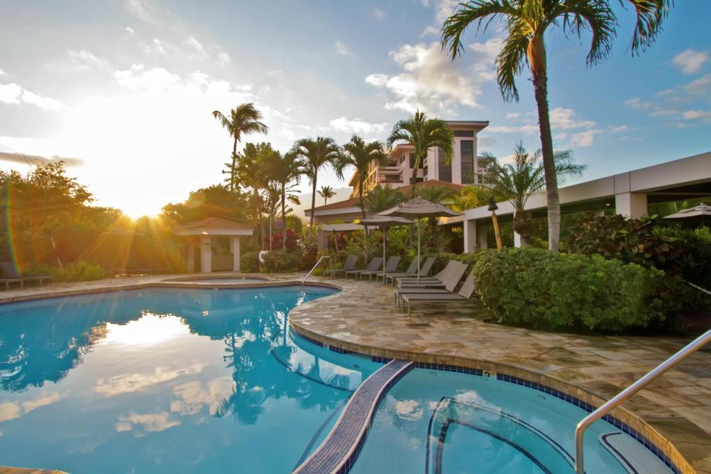 The swimming pool at or close to Maui Coast Hotel