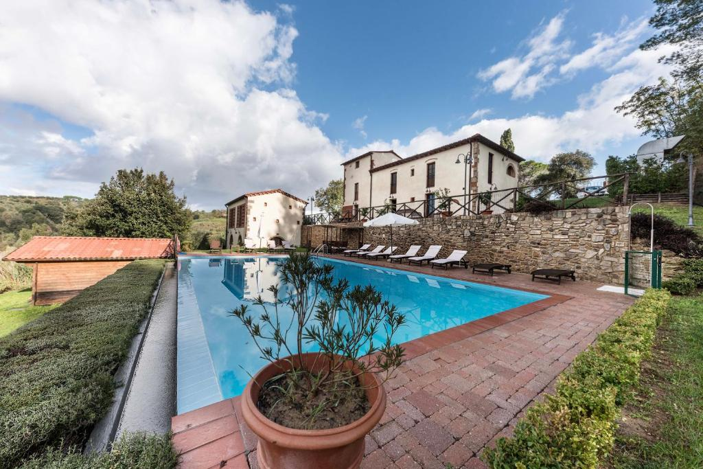 Villa Toscana Con Piscina Italien Palaia Booking Com