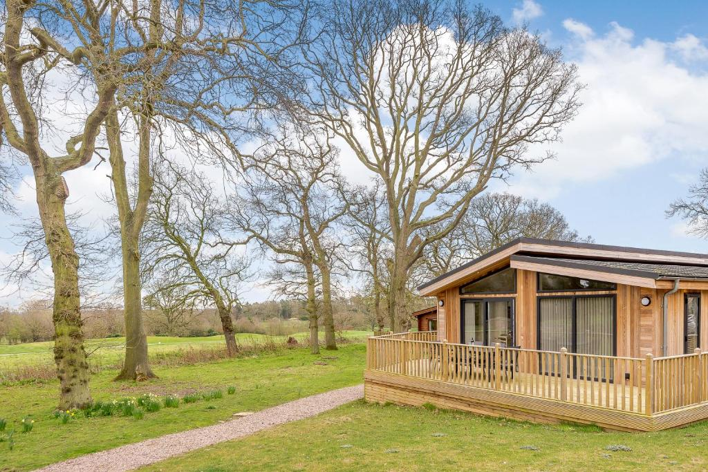 Kenwick Wood Lodges in Louth, Lincolnshire, England