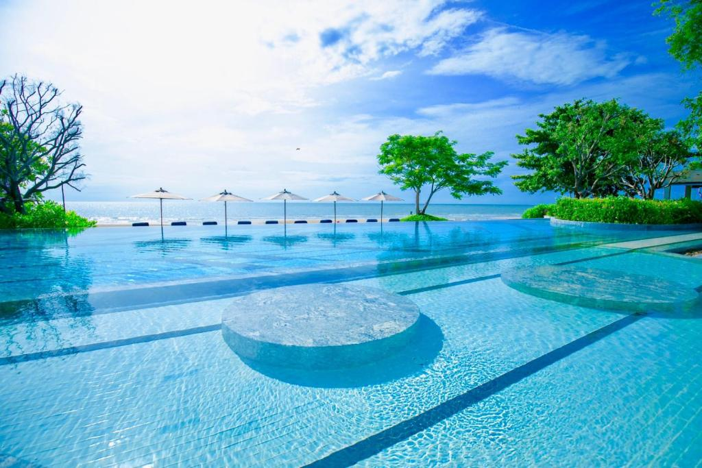 The swimming pool at or near Baba Beach Club Hua Hin Luxury Pool Villa by Sri panwa