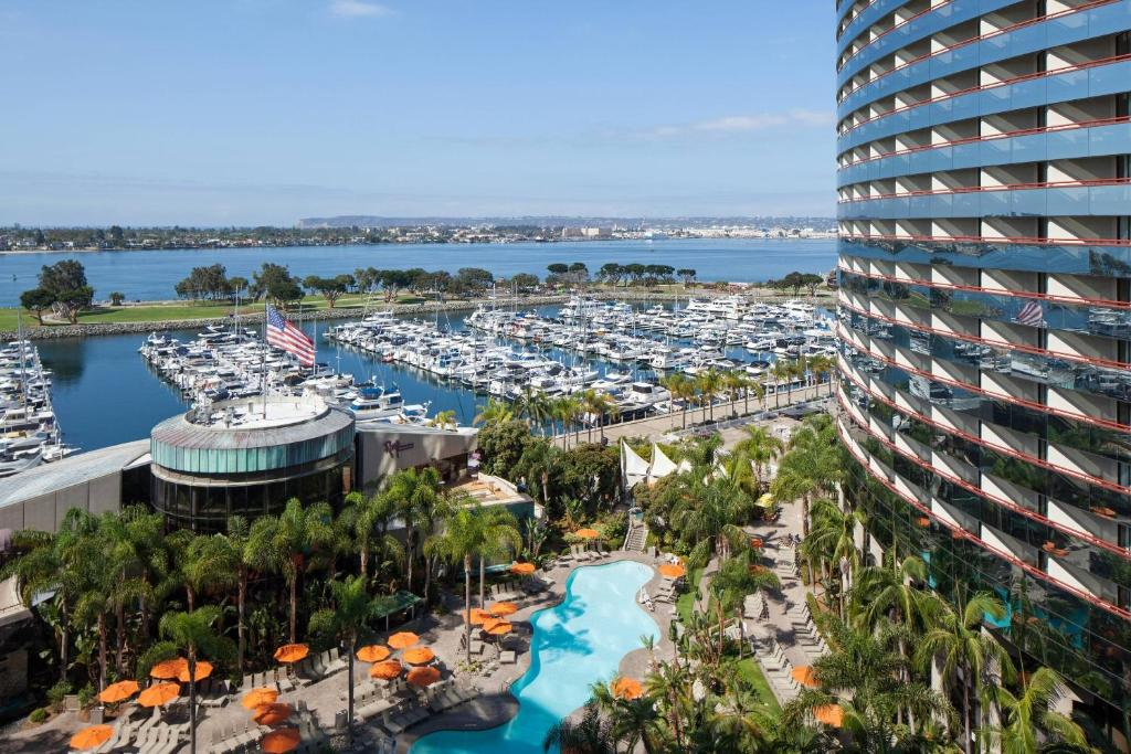 A view of the pool at San Diego Marriott Marquis and Marina or nearby