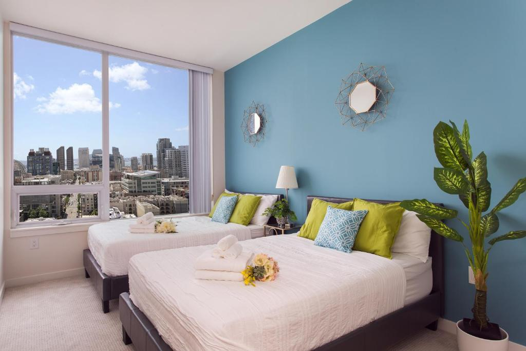 High Rise City View Condo Los Angeles Ca Booking Com