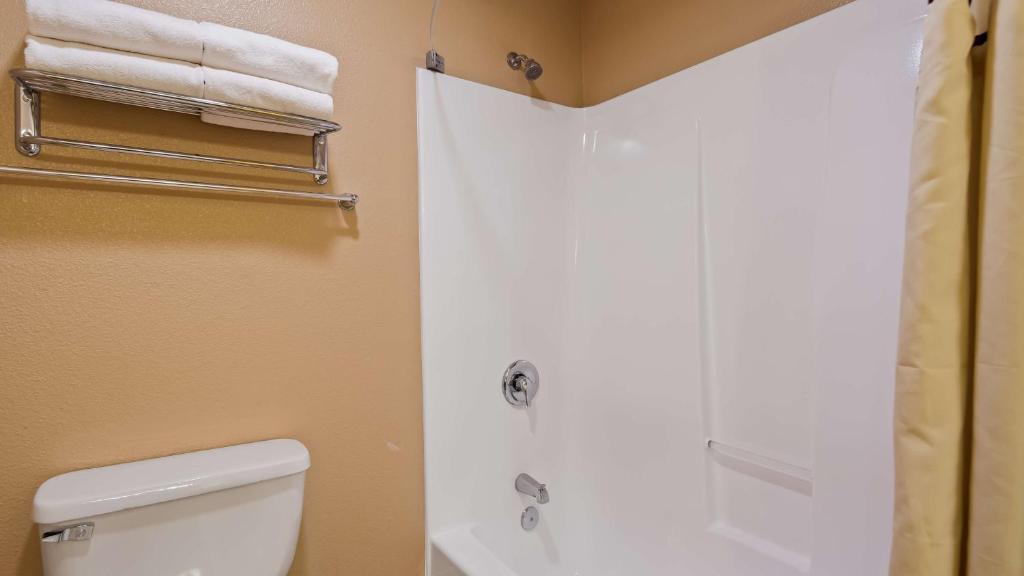 A bathroom at Best Western Fallon Inn & Suites