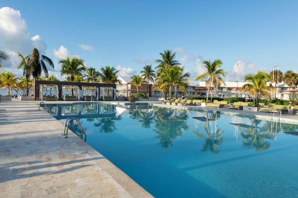 The swimming pool at or near Viva Wyndham Fortuna Beach All Inclusive