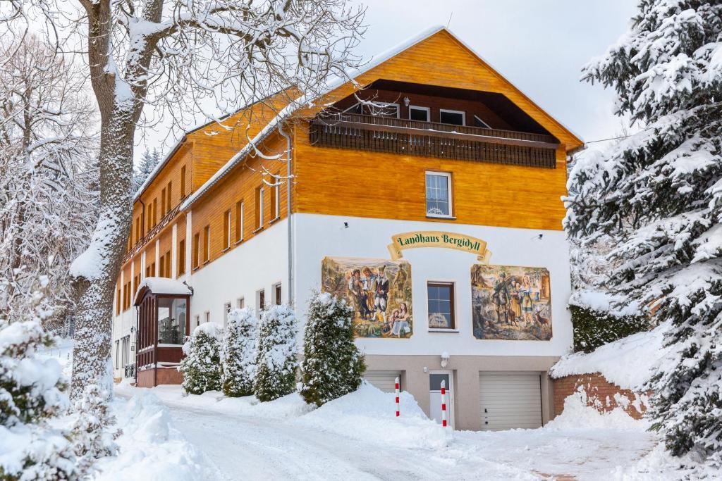 Landhaus Bergidyll im Winter