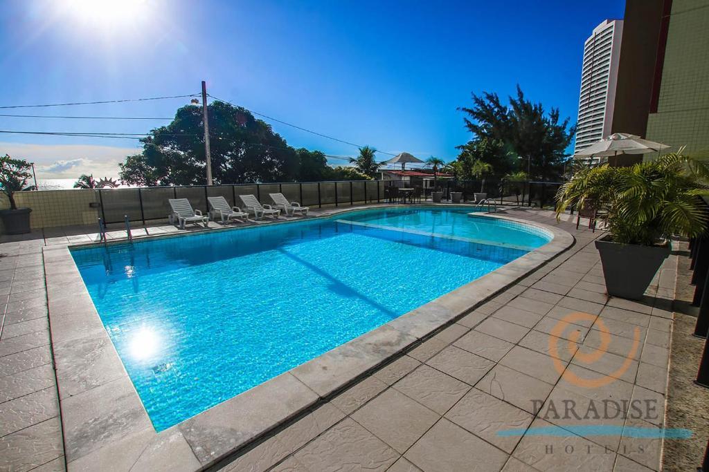 A piscina localizada em Paradise Flat ou nos arredores