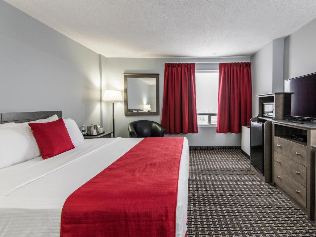 Hotel s 3 hviezdičkami v meste Grande Prairie ponúka kasíno a fitness a wellness centrum Hodnotenie cestovateľov zo stránky TripAdvisor.