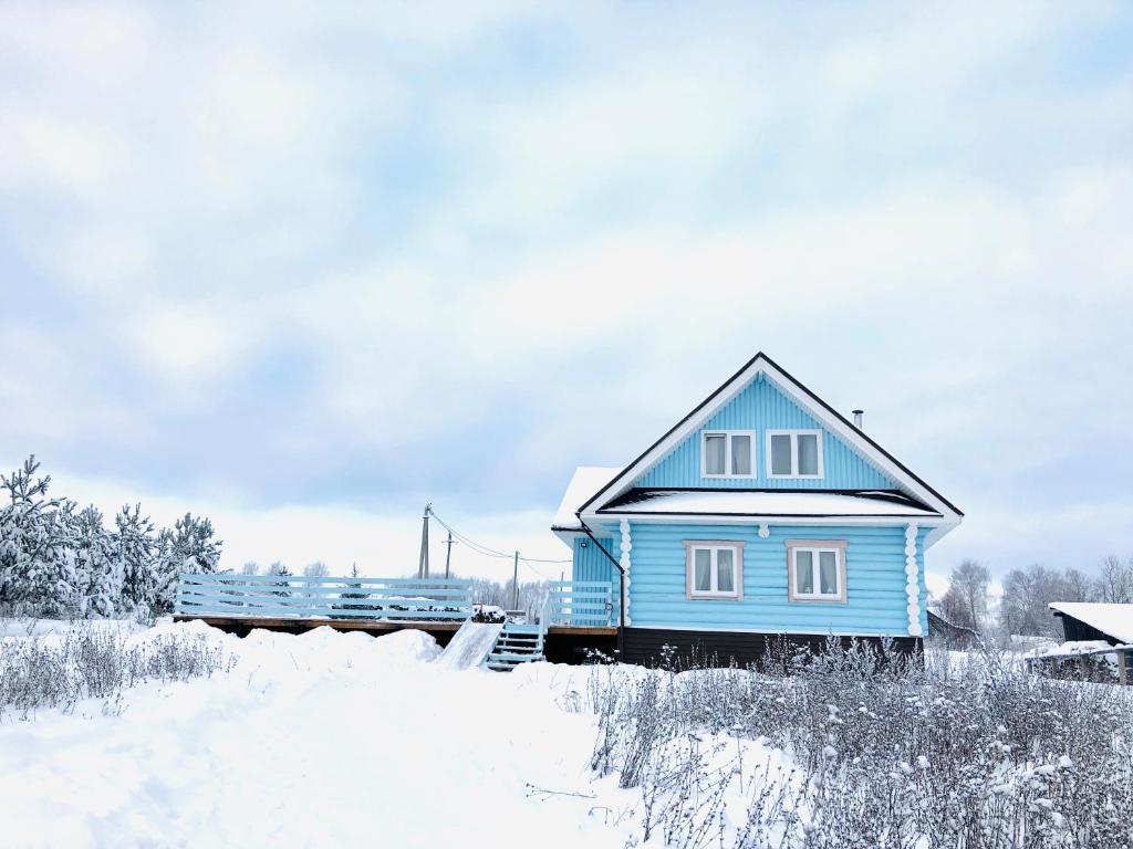 Гостевой дом Умиление зимой