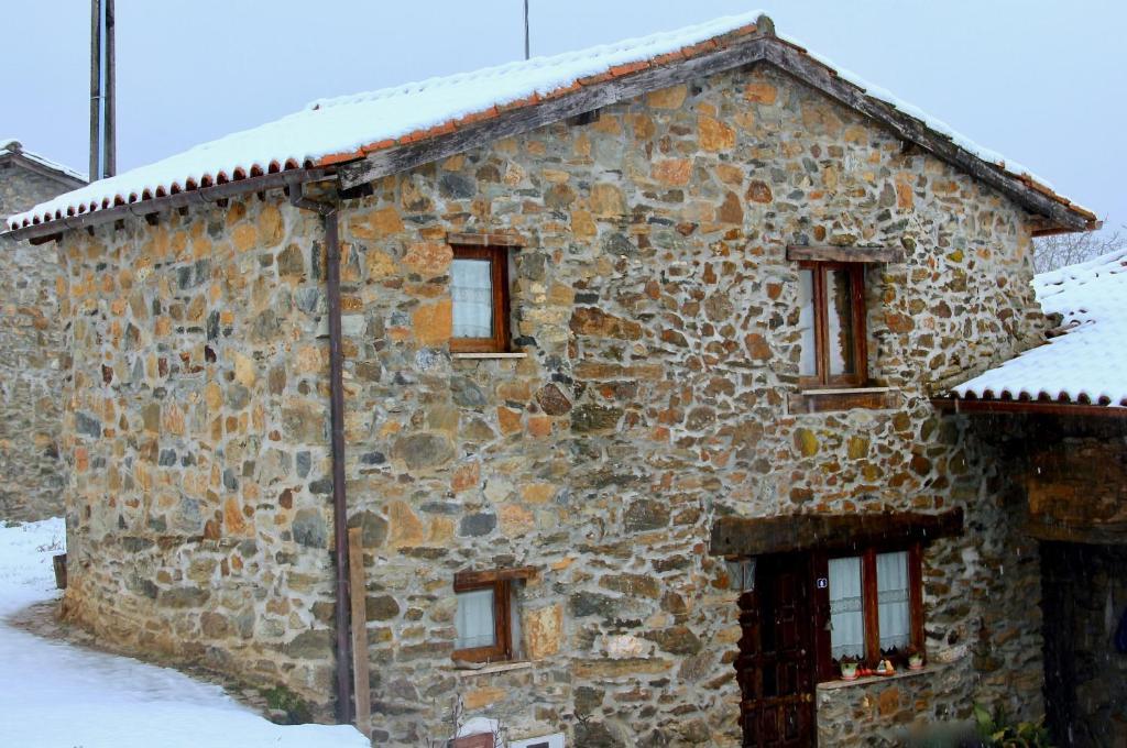 Casa da Barriada during the winter