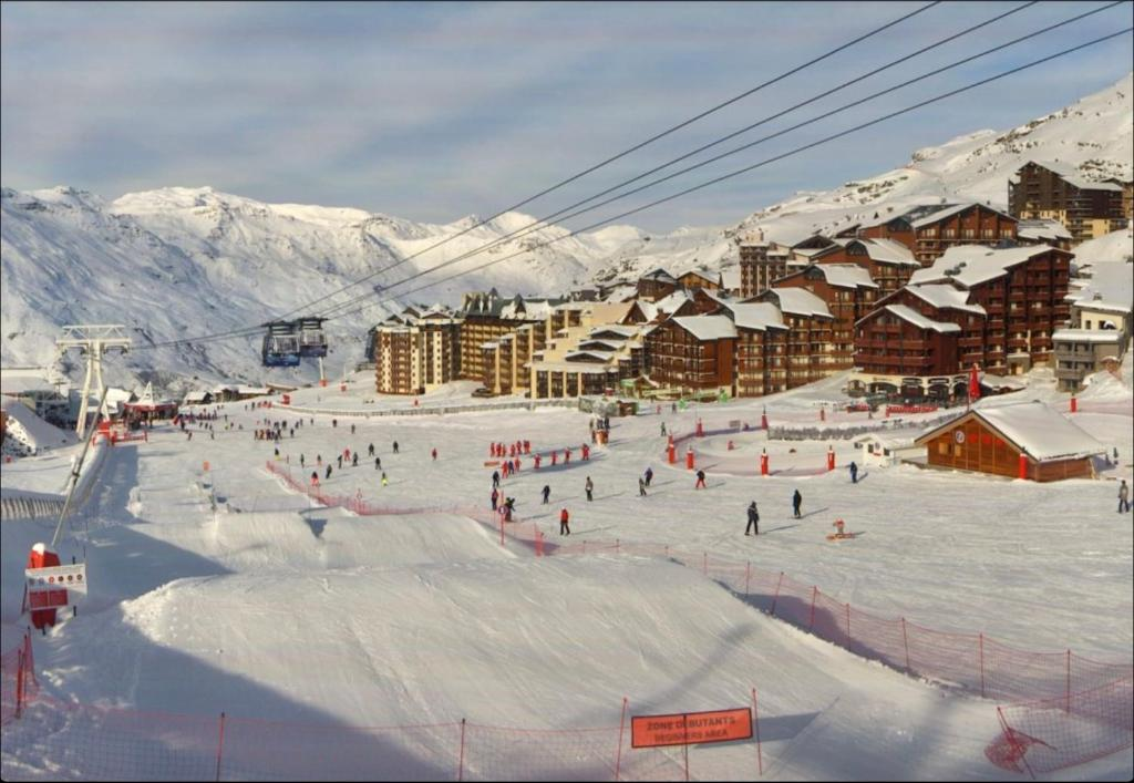 Pistkarta Val Thorens Active Ski Travel