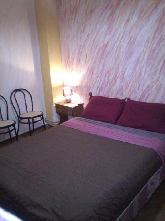 Letto o letti in una camera di Sun Corfu