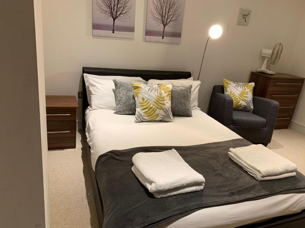 Luxury Serviced Apartment Canary Wharf London 1 Bedroom 1 Sofabed London