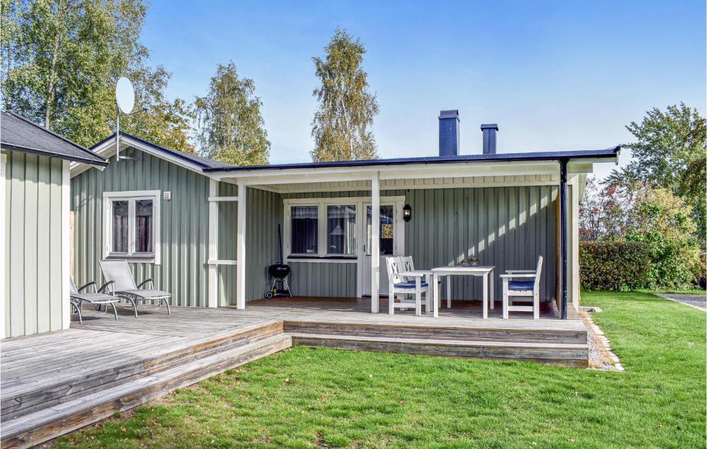 Hrliga Hllevik - 4-bddar- Strandstuga nr 14 - Cabins for