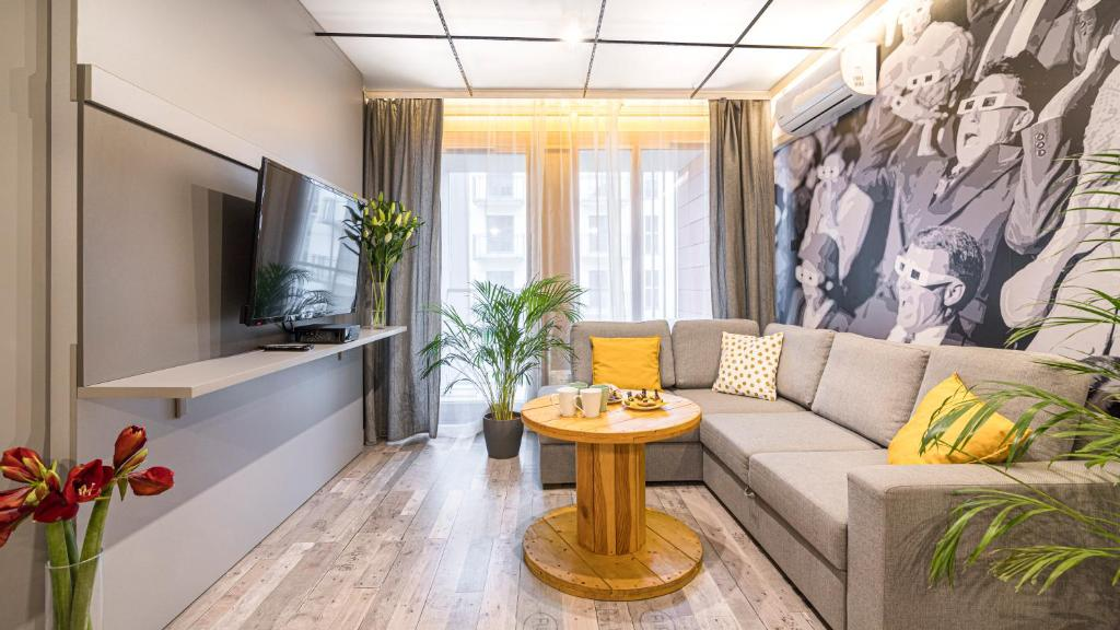 Część wypoczynkowa w obiekcie Maya's Flats & Resorts - Gdańsk Toruńska
