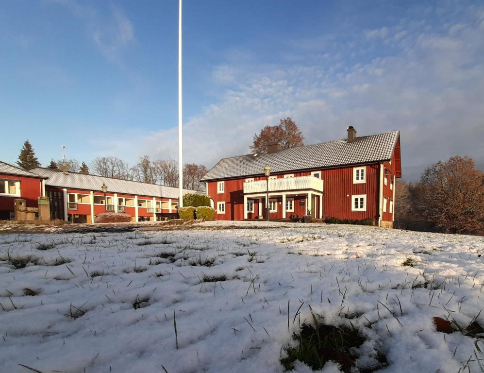 Breanäs Hotell under vintern