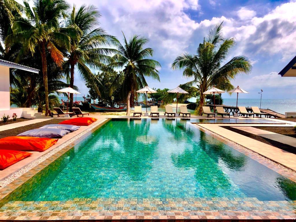 Piscine de l'établissement Pearl Of Samui Resort ou située à proximité