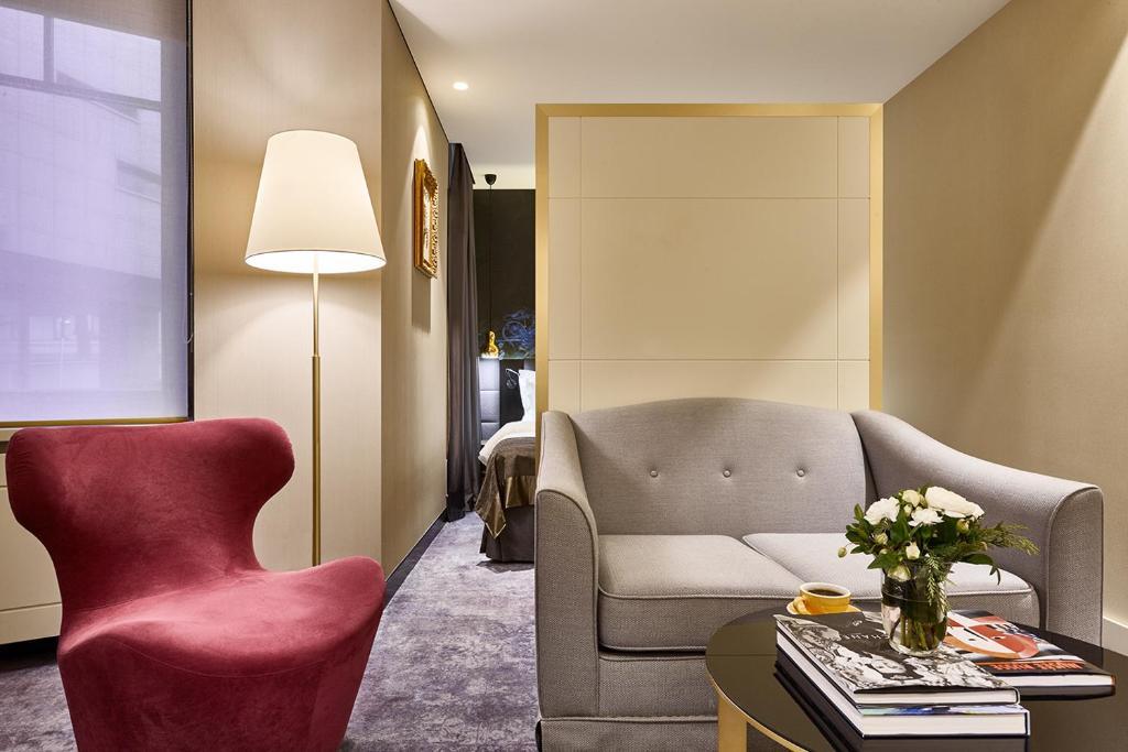 Гостиная зона в Отель Акварель