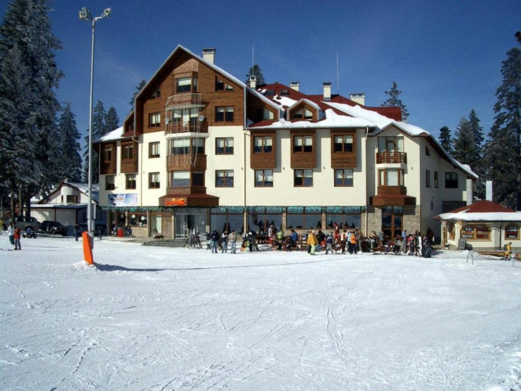 Ice Angels Hotel during the winter