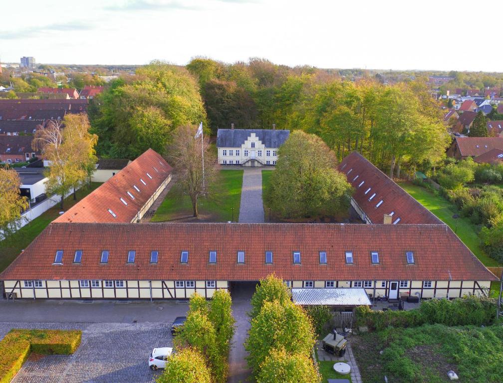 A bird's-eye view of Danhostel Odense Kragsbjerggaard
