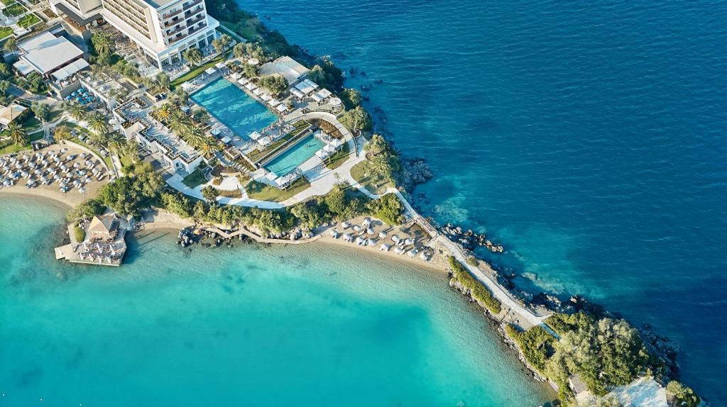 Vista aerea di Corfu Imperial, Grecotel Exclusive Resort