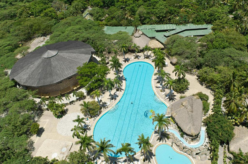 A bird's-eye view of Irotama Resort