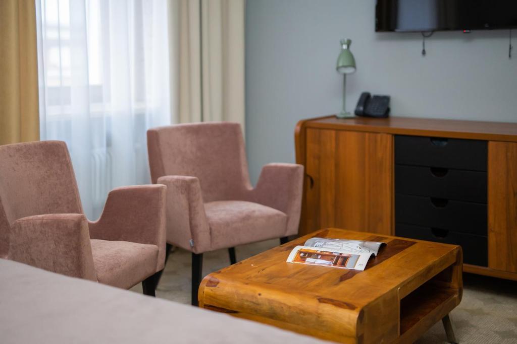 Гостиная зона в V Hotel Sadovaya
