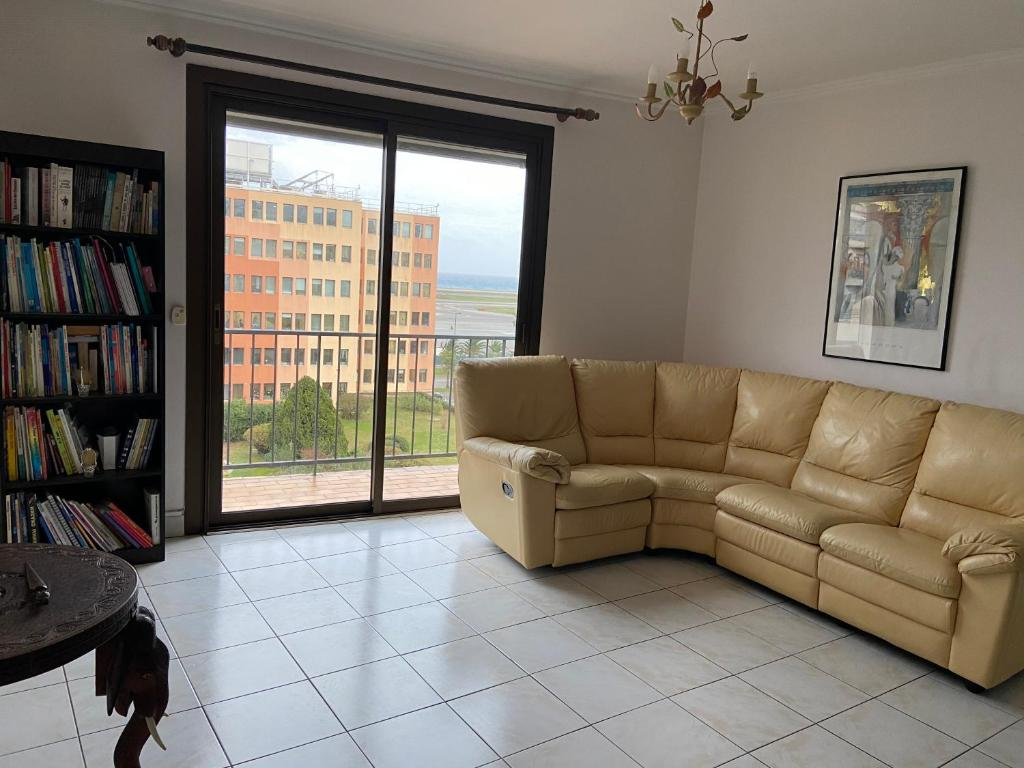 A seating area at Flat in Nice seaview 3 rooms