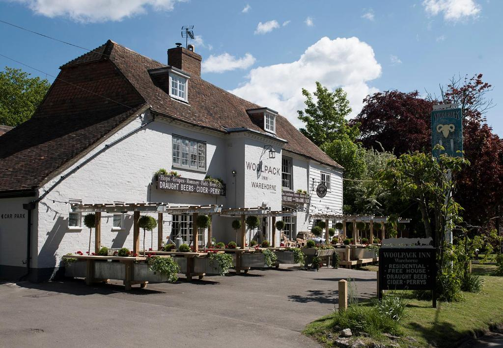 The Woolpack Inn in Wavehorne, Kent, England