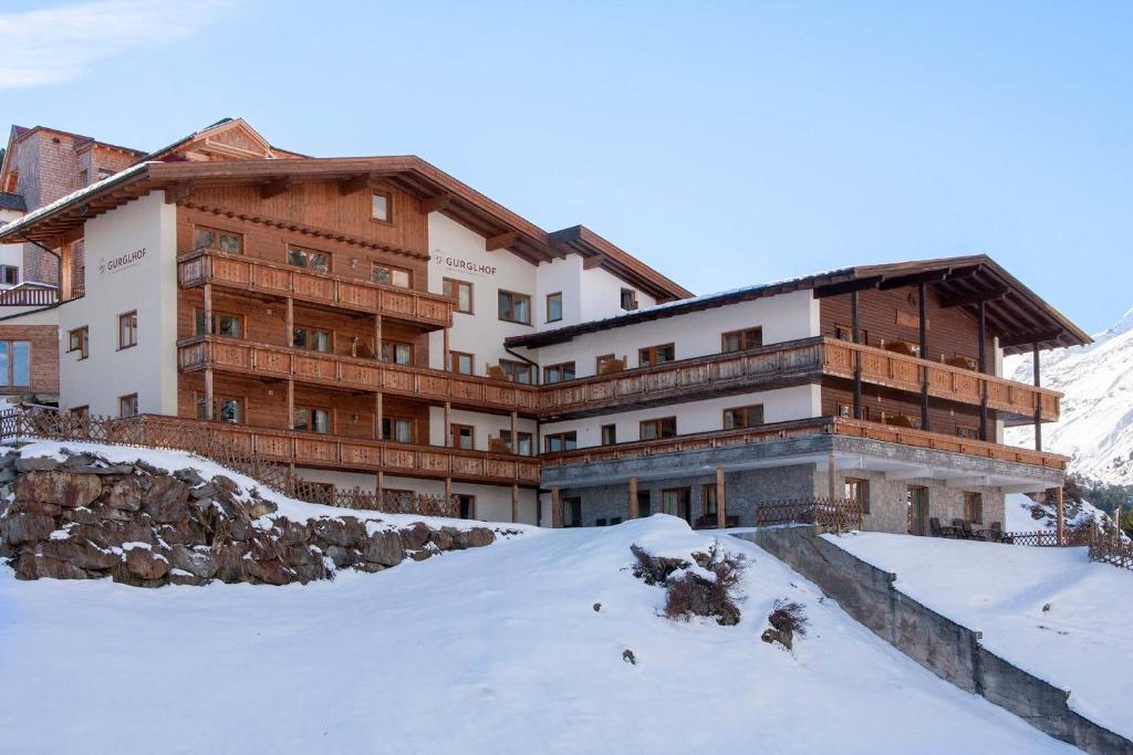 Gurglhof Apartmenthaus im Winter