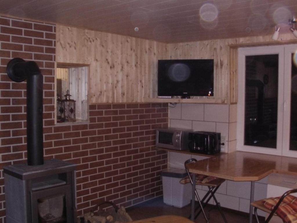 TV/Unterhaltungsangebot in der Unterkunft Halmis FeWo
