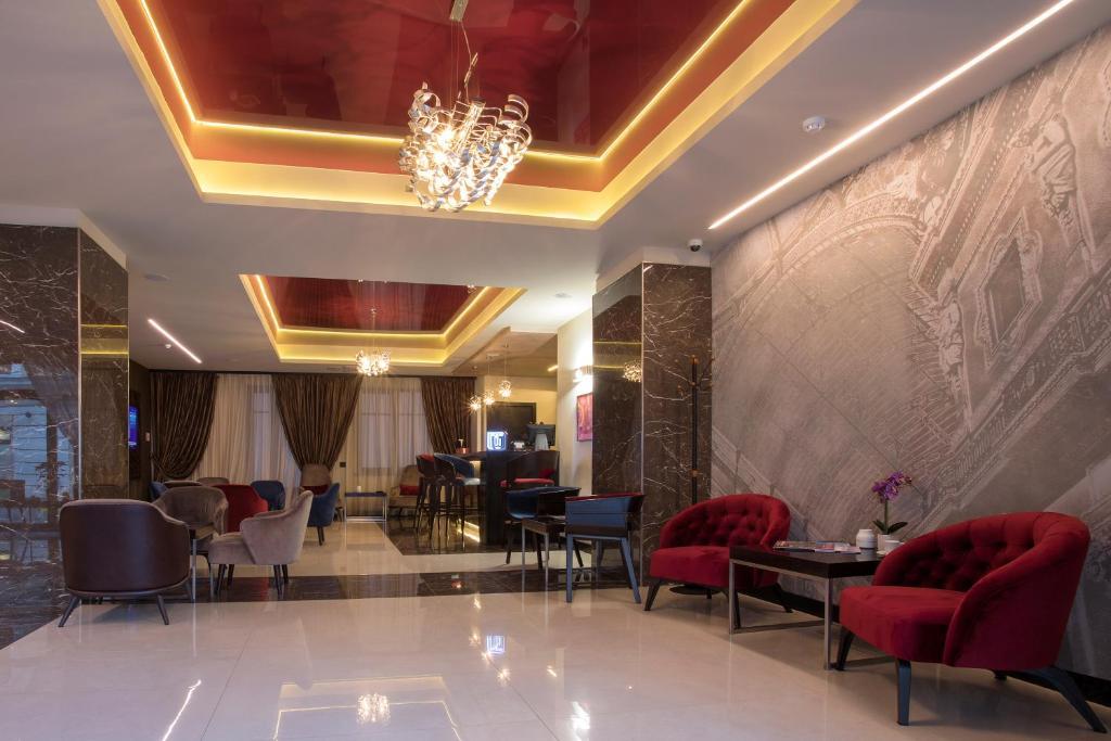 Hall o reception di Hotel De Savoya