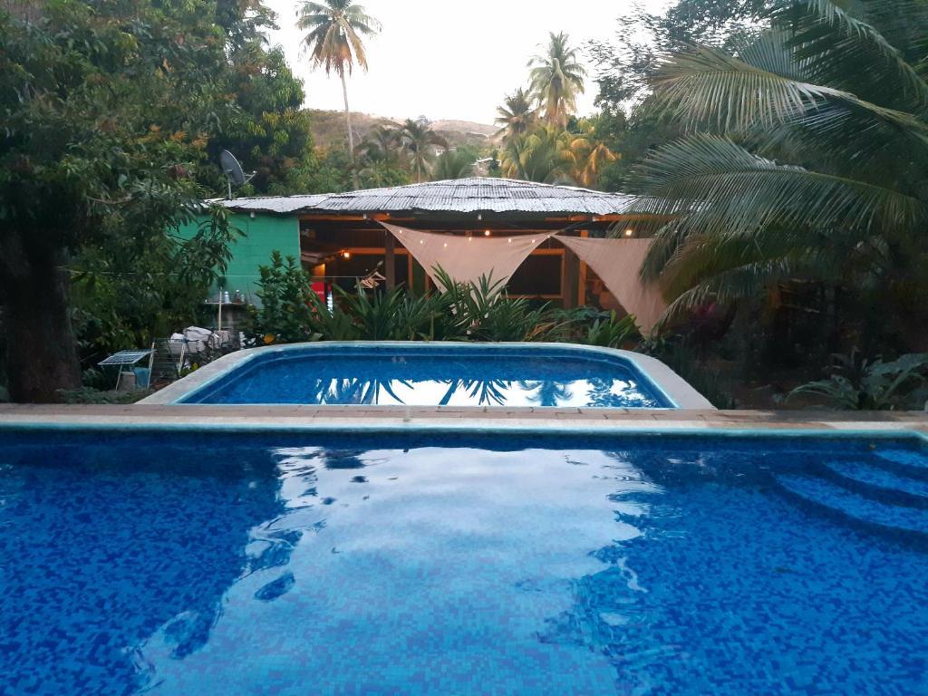 The swimming pool at or near Hammock plantation