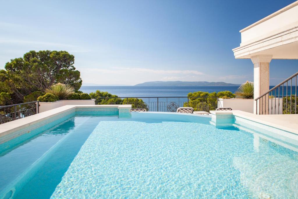 The swimming pool at or near Luxury Rooms Villa Jadranka