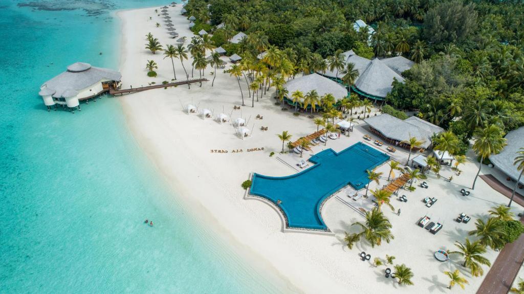 A bird's-eye view of Kihaa Maldives