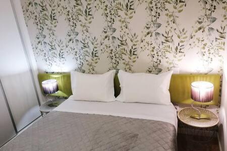 Cama o camas de una habitación en Cativo Flat