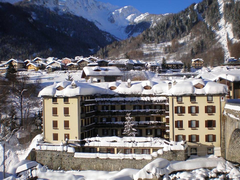 Hotel Tavernier durante l'inverno