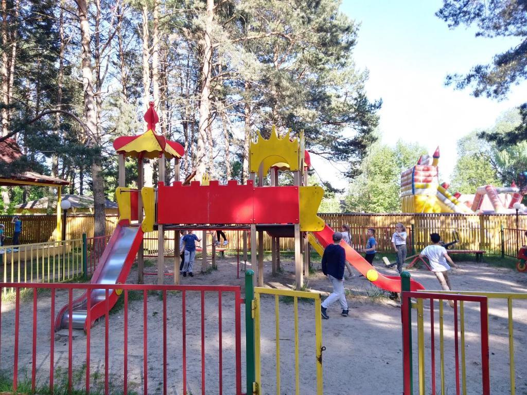 Детская игровая зона в Отель Раздолье