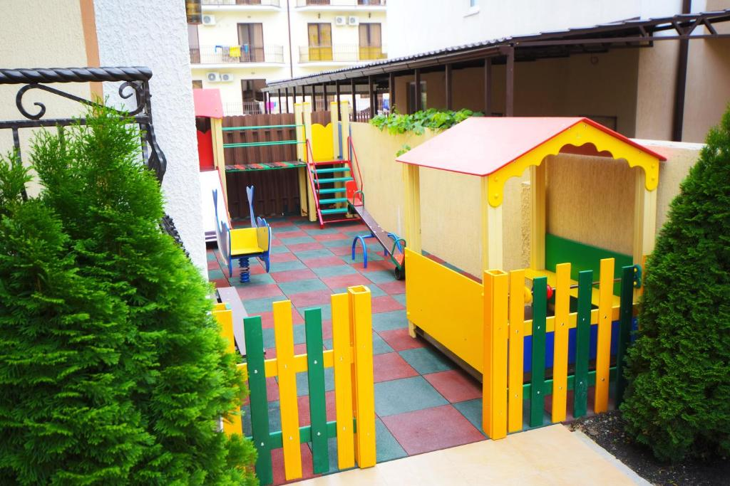 Children's play area at AsTerias Hotel