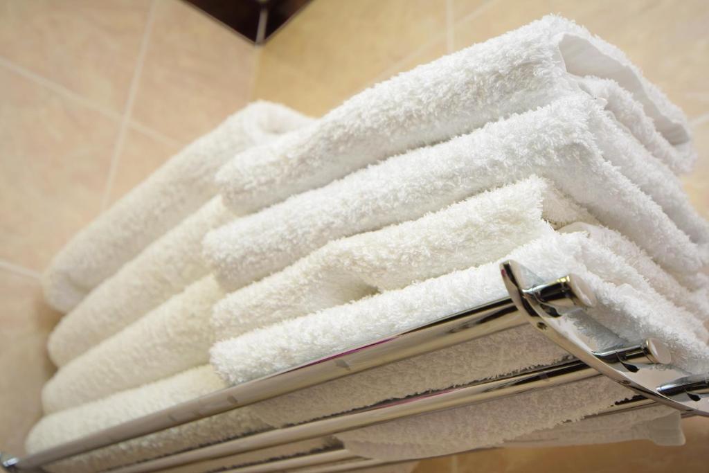 Ванная комната в AsTerias Hotel