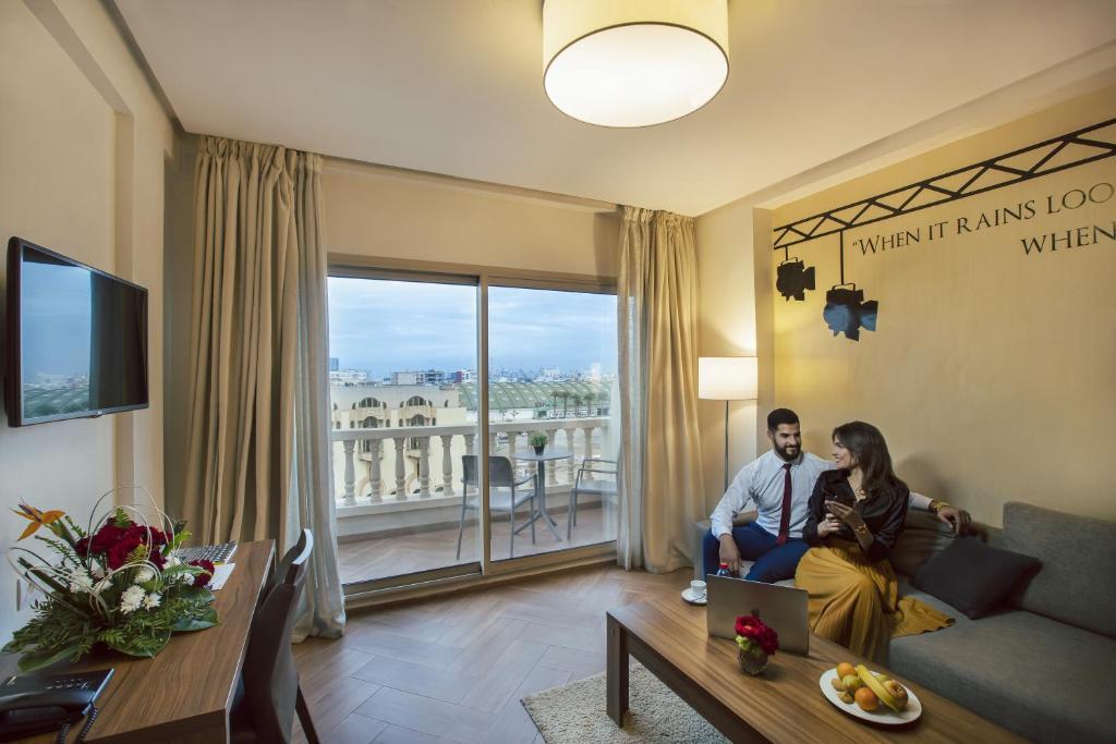 Melliber Appart Hotel (Marokko Casablanca) - Booking.com