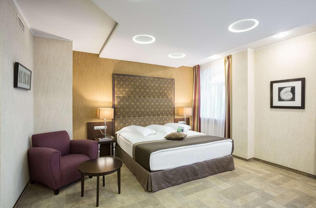 Cama o camas de una habitación en Park Inn by Radisson Sadu